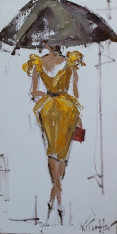 Katryn Morris Trotter - Fashion Illustration #4