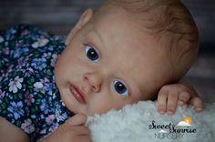 **Reborn baby doll,  Chloe by Natali Blick**SOLE kit** Sweet Sunrise Nursery