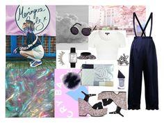 """Untitled #233"" by raphaelaelena on Polyvore featuring Yves Saint Laurent, Topshop, Chanel, Fendi, G.V.G.V., GUiSHEM, women's clothing, women, female and woman"