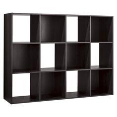 Room Essentials� 12-Cube Organizer - Espresso