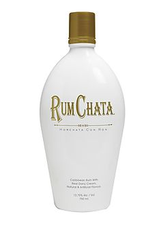 Rum Chata...in coffee or black tea, on fruit, with kahlua, with Fireball, who cares?! It's all good. They say you can even make French toast with it.