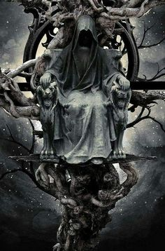 Dark art for our inner demons: Photo Grim Reaper Art, Don't Fear The Reaper, Foto Fantasy, Dark Fantasy Art, Fantasy Artwork, Gothic Artwork, Dark Gothic Art, Dark Art, Angels And Demons