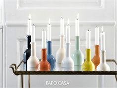 reutilizar garrafa de vidro