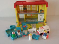 Got this for my sixth birthday! Fisher Price Little People Children's Hospital