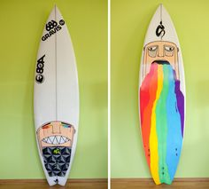 30 Good, Bad, And Ugly Surfboard Graphics - Mpora