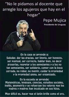 Orientación en Galicia: Educación e José Mujica