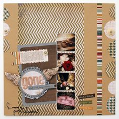 Simple Stories Layout by Design Team Member Gina Hanson