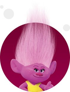 As her name might imply, Moxie is a spunky pink Troll who's got attitude in spades.