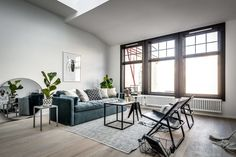 Apartment in Stockholm by Stylingbolaget