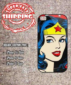 Wonder Woman The Avengers iphone 4 case. if only windows phones had this coolness.
