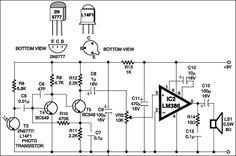 fm receiver circuit diagram using transistor