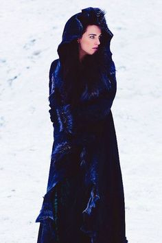 deep blue velvet coat by jum jum Morgana Le Fay, Merlin Morgana, Merlin Tv Series, Lena Luthor, Katie Mcgrath, Blue Velvet, Costume Design, Supergirl, Deep Blue