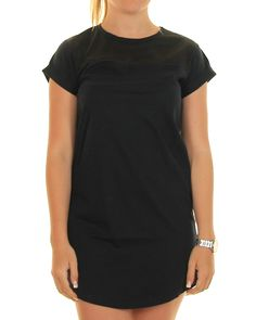 Inseption - All About Eve - Ladies - Effect Tee Dress - Black
