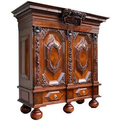 frankfurter wellenschrank nussbaum barock antiquit ten antik m bel barock. Black Bedroom Furniture Sets. Home Design Ideas