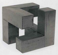 escultura com peças geometricas - Pesquisa Google