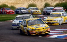 BTCC super touring cars.