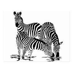 Arte Zebra, Zebra Kunst, Zebra Art, Nursery Wall Stickers, Nursery Wall Art, Wall Decals, Zebra Clipart, Water Drawing, Africa Art