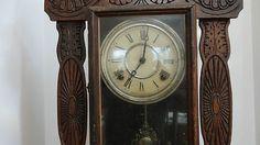 Gingerbread Clock E Ingraham Clock Co Bristol Conn | #432023755