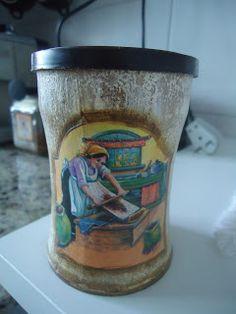 Dicas de reciclagem usando latas e potes de sopa - Meu lado arteiro