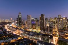 The Business Center    Makati Philippines by anthonyromblon City and Architecture Photography #InfluentialLime