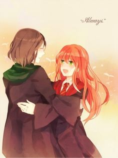 Lily and Severus - harry-potter-anime Photo