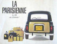 """Publicidades del """"gran"""" Renault 4"""