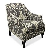 "Tinsley Fabric Accent Chair, 30""W x 35""D x 36""H. In the lighter color"