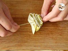 Sapins feuilletés au pesto, Recette Ptitchef