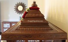 Wall Partition Design, Pop False Ceiling Design, Pooja Room Door Design, Main Door Design, Temple House, Temple Design For Home, India Home Decor, Mandir Design, Pooja Mandir