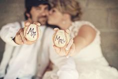 Baseball Themed Wedding Shoot by Dana Widman Photography   Rock The Aisle ~#repinned by Lori Cole Events