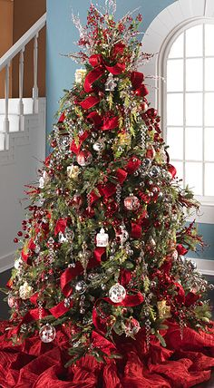 Christmas Tree Decorations 2014 50 most beautiful christmas tree decorations ideas | beautiful
