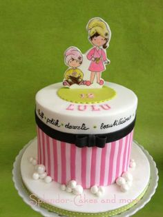 vanilla SMBC. The cake was for