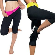 Womens Slimming Pants Hot Thermo Neoprene Sweat Sauna Body Shapers -- Details can be found by clicking on the image.
