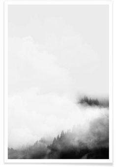 Landscape No. 40 als Premium Poster von typealive   JUNIQE
