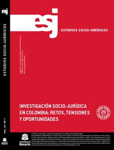 Estudios Socio-Jurídicos  Vol. 20, Núm. 1 (2018)