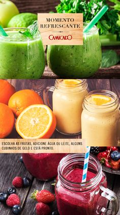 Essas delícias refrescantes são muito fáceis de fazer e podem ser uma opção nutritiva e prática no seu dia a dia.