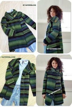 Easy to wear cardigan. Free crochet pattern