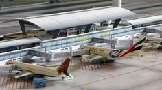 Cardboard Play, Passenger Aircraft, Art Model, Zoo Animals, Scale Models, Aviation, Architecture Models, Christmas Villages, Planes