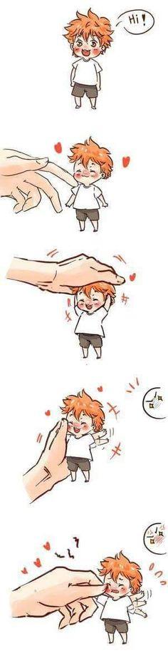 OMFG I WANT HIIIIIIM! Hinata, my baby!!! /// Haikyuu Karasuno