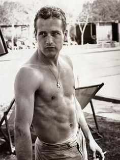 GORGEOUS and handsome Paul Newman