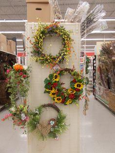 Summer wreaths Sherrie