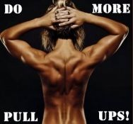 there is a different kind of pride a woman gets from doing a pull up.