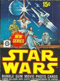 Star Wars Cards. I got in trouble for saving my lunch money to buy these at Linder's Food Mart after school.