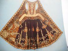 Ένα  Γιαννιώτικο  πιρπιρί Folk Costume, Costumes, Medieval Clothing, Traditional Clothes, Ottoman Empire, Folk Art, Greece, Cosplay, Embroidery