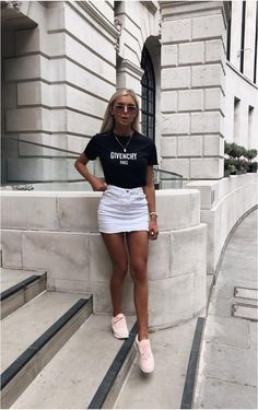 This skirt is the best for casual looks - . - This skirt is the best for casual looks – - Cute Summer Outfits, Holiday Outfits, Trendy Outfits, Chic Outfits, Tumblr Summer Outfits, Simple Outfits, Classy Outfits, Sexy Outfits, Winter Outfits