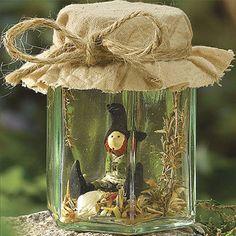 Still life in mason jar