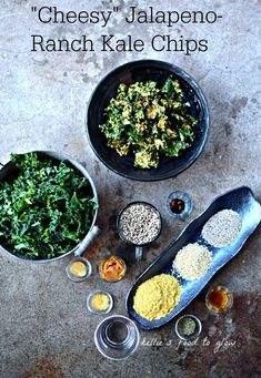 """If youcan eat a whole bag of heart-stoppingly expensive vegan """"cheese"""" kale chips without pausing for sharing, or breathe, this is the recipe for you. Add in the fact that it is a bit spicy, a bit..."""