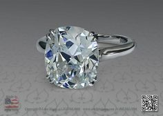 Cushion cut diamond engagement ring by Leon Mege 2 - 2.5ct would be perfect. I am getting excited just looking  at this ring
