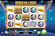 Bingo Billions is a 25 line 5 reel video slot game with amazing features where all prizes are tripled!