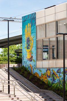 In Finland; Graffiti Art, Windmill, Summer 2015, Finland, Night, Artwork, Art Work, Work Of Art, Auguste Rodin Artwork